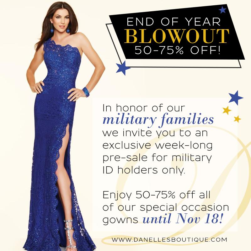 MilitaryVIP - Bridal Boutique Website Design