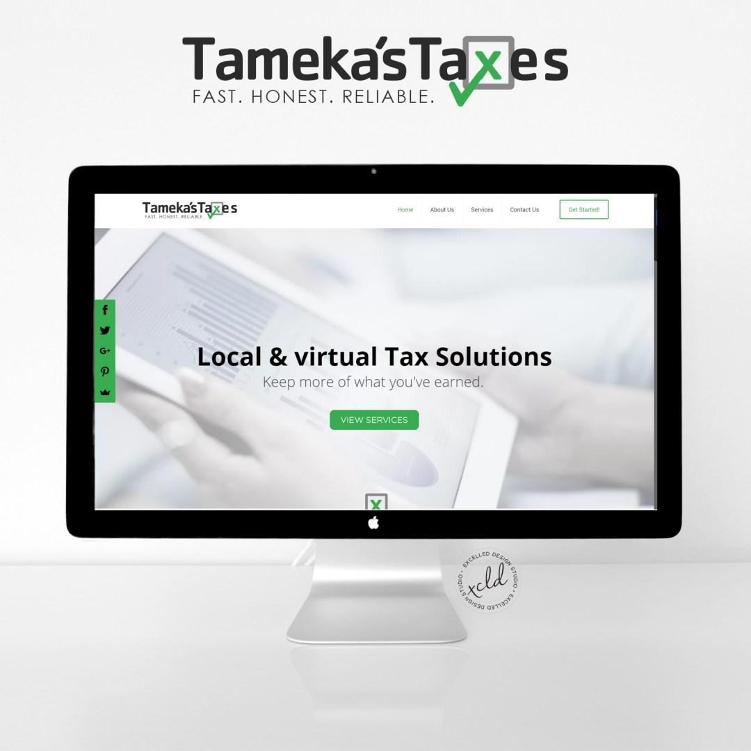 Tameka Taxes mockup1 - Tameka's Taxes
