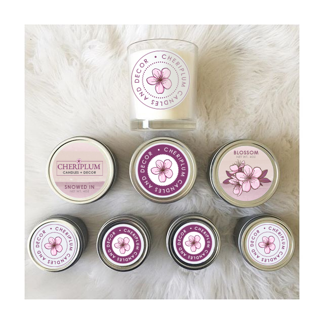 candlemock - Soy Candle Boutique Branding