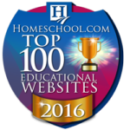 Everyday Education's Excellence in Literature has been listed among the Top 100 Educational Websites of 2016.