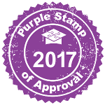 Purple Stamp of Approval for 2017 from HomeschoolBase.com