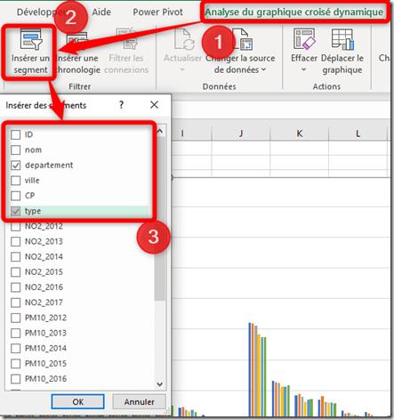 Excel - GCD - Choix segment