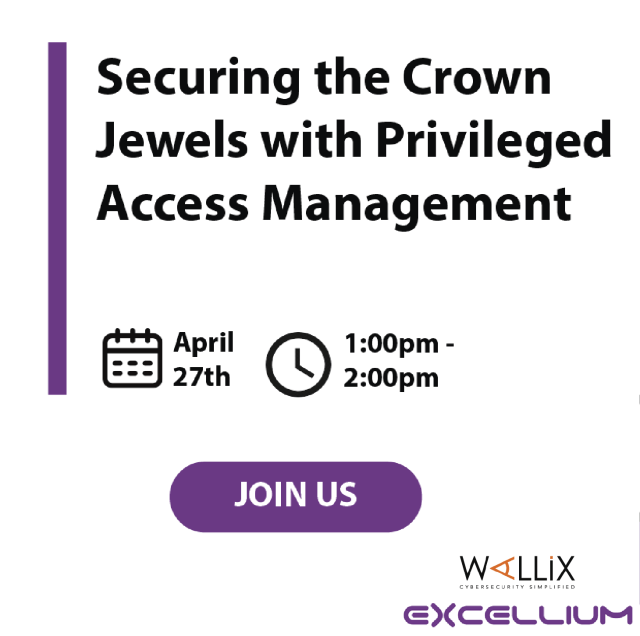 Wallix webinar 2 Securing the crown jewels with privileged access management - BANNER
