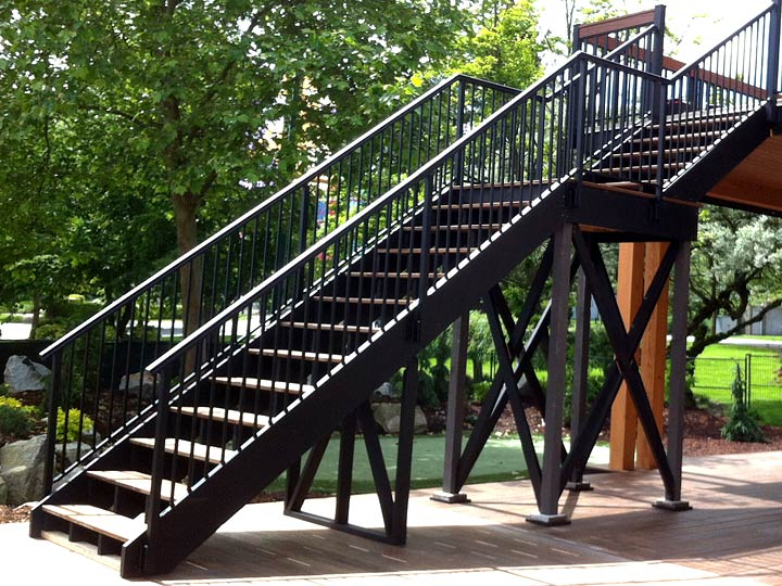 Stair Railings Custom Built Stair Guardrails And
