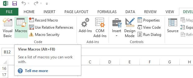 Macro-uri in Excel: Introducere