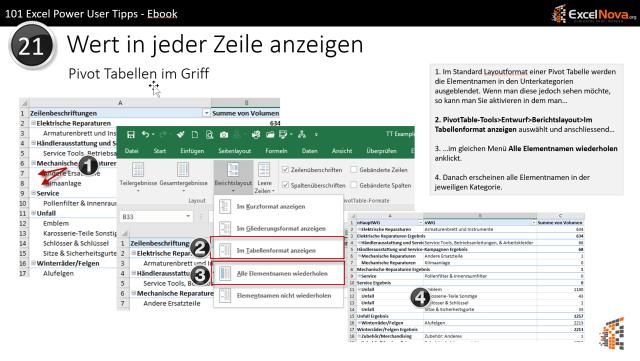 Excel Tipp #21