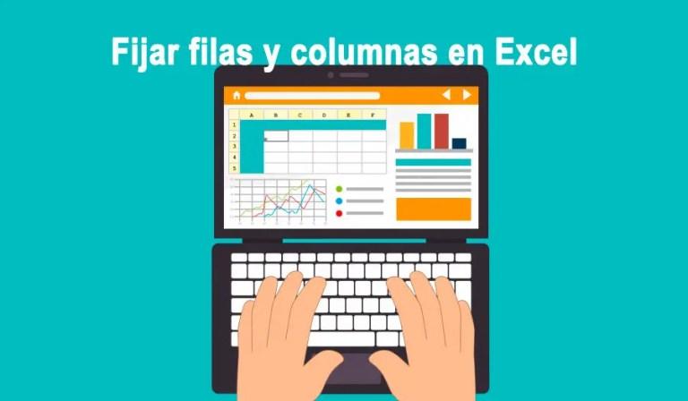 Cómo fijar columnas y filas en Excel