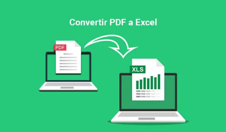Convertir PDF a Excel