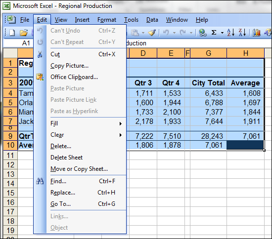 How To Copy A Worksheet Picture In Excel Or Excel