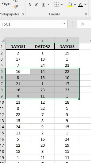EXTRAER REGISTROS ÚNICOS DE UN RANGO DE DATOS