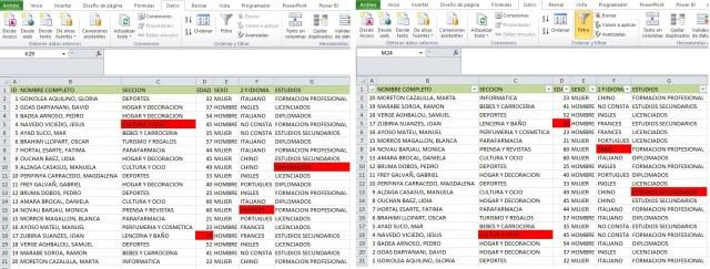 MACRO PARA HALLAR DIFERENCIAS ENTRE DOS BASES DE DATOS3