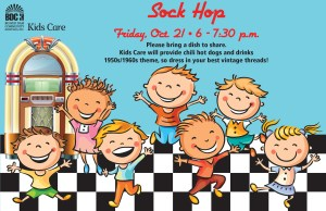 BDCH Sock Hop Flyer