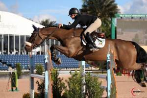 Ilan and Morgan on an Excel Supplements Performance Horse