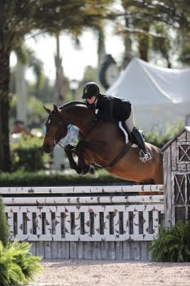 Rachel Kennedy on an Excel Supplements Performance Horse