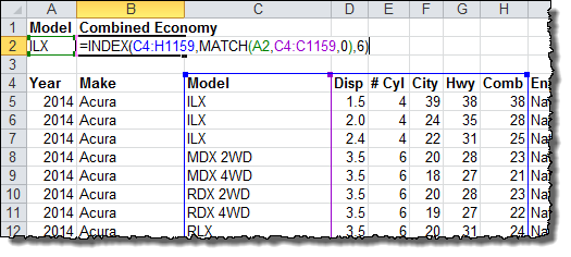 Vlookup Multiple Values Or Criteria Using Excel S Index