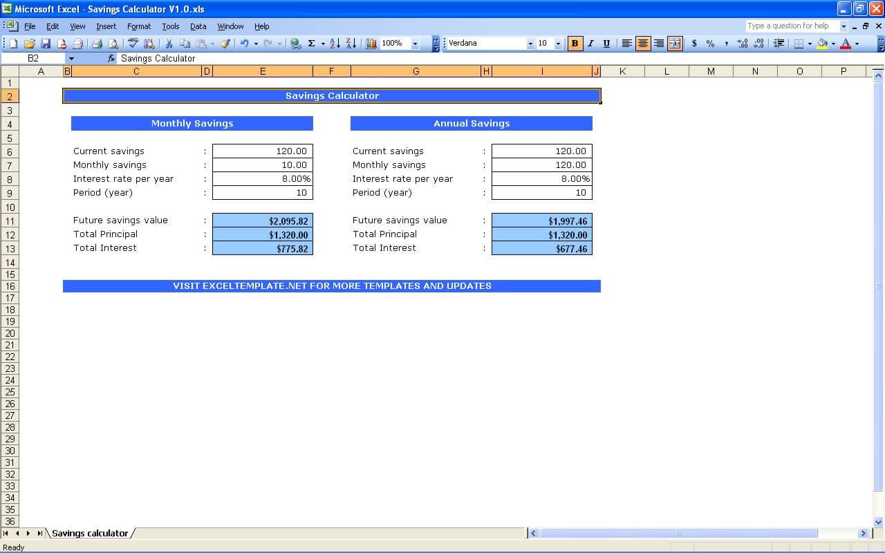 Saving Estimate Templates