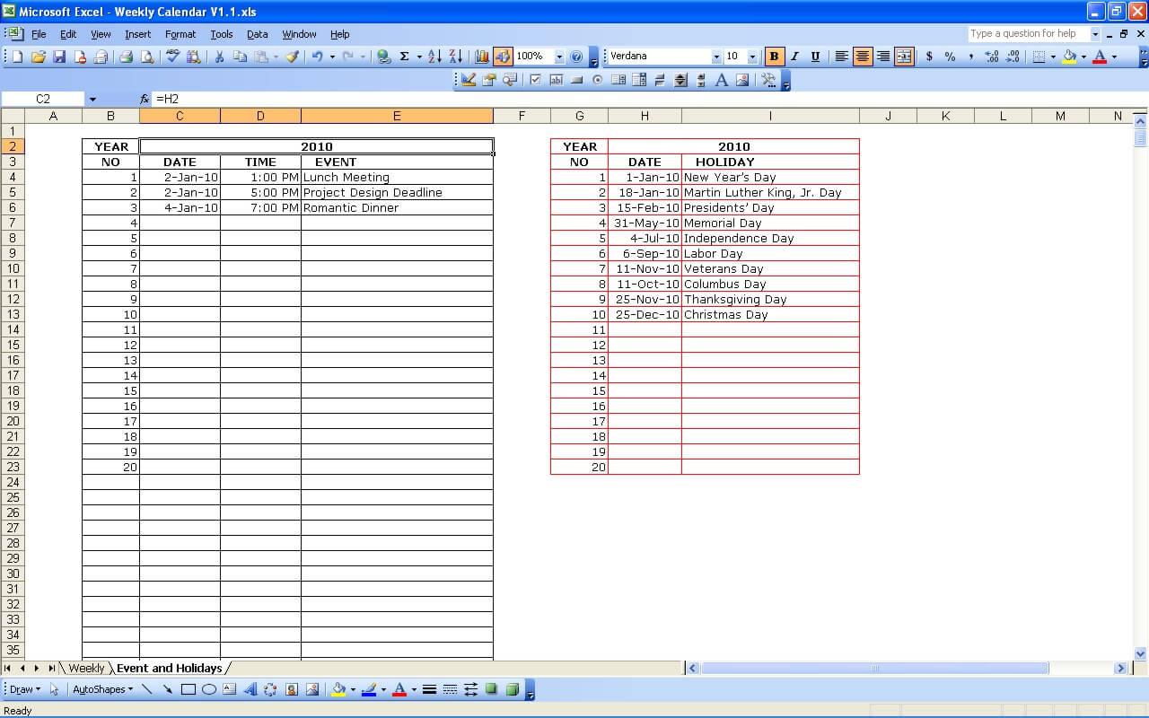 Template. excel calendar template appointment calendar template xls ...