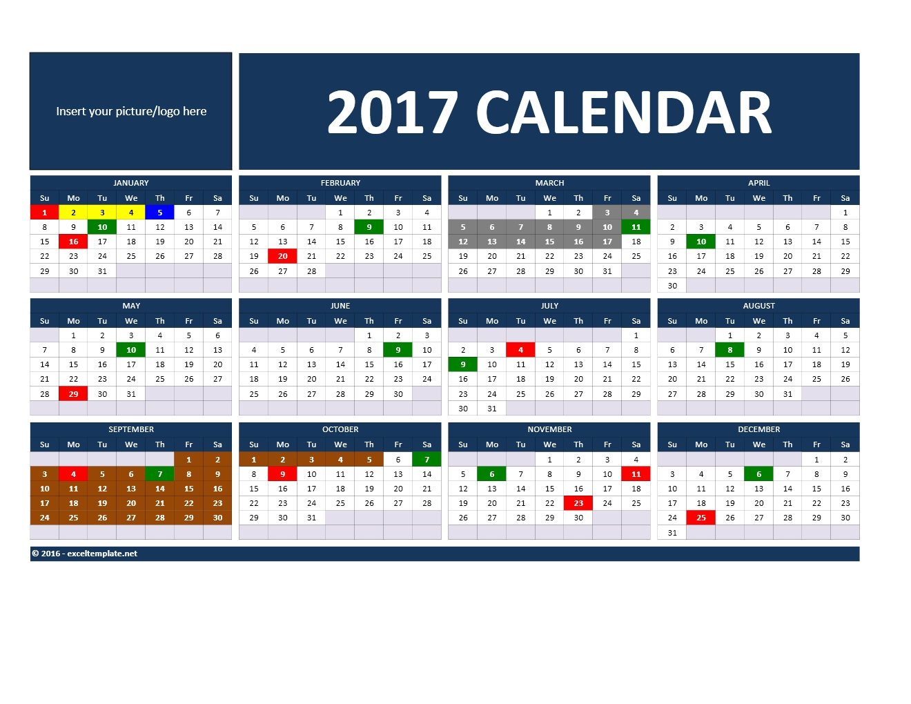And Calendars