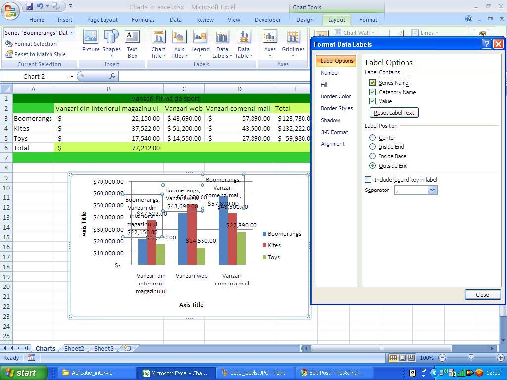 Totul Despre Charts In Excel