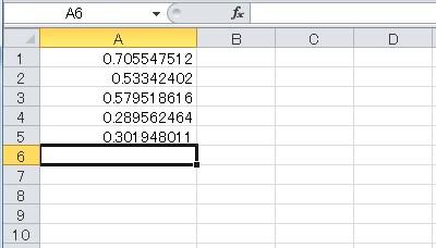 乱数(Rnd 関数)例2-1
