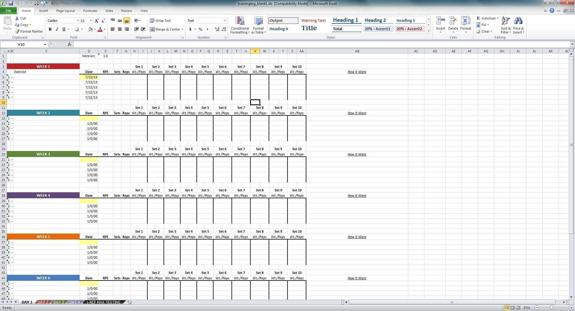 Excel Training Matrix Examples Spreadsheets Training Spreadsheet Template Spreadsheet Templates