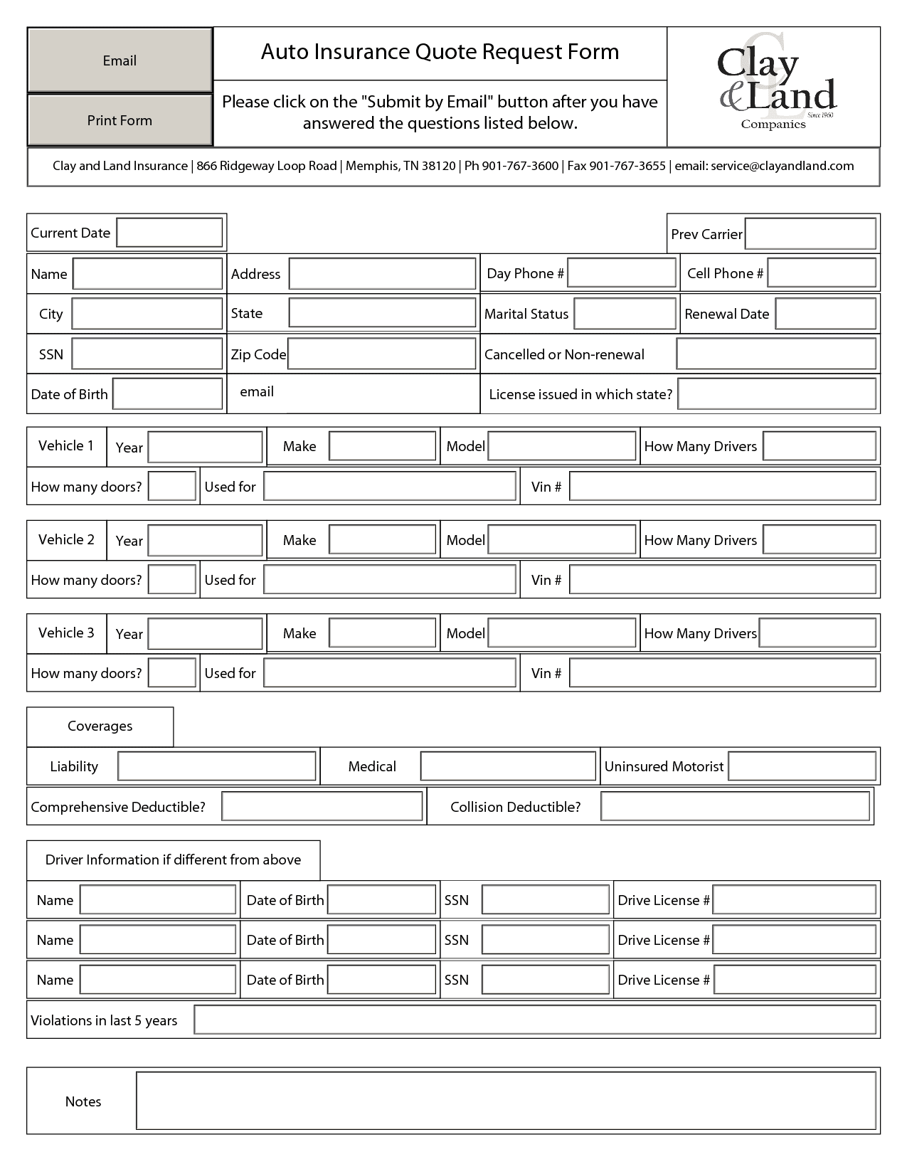 Free Printable Business Forms Spreadsheet Templates For