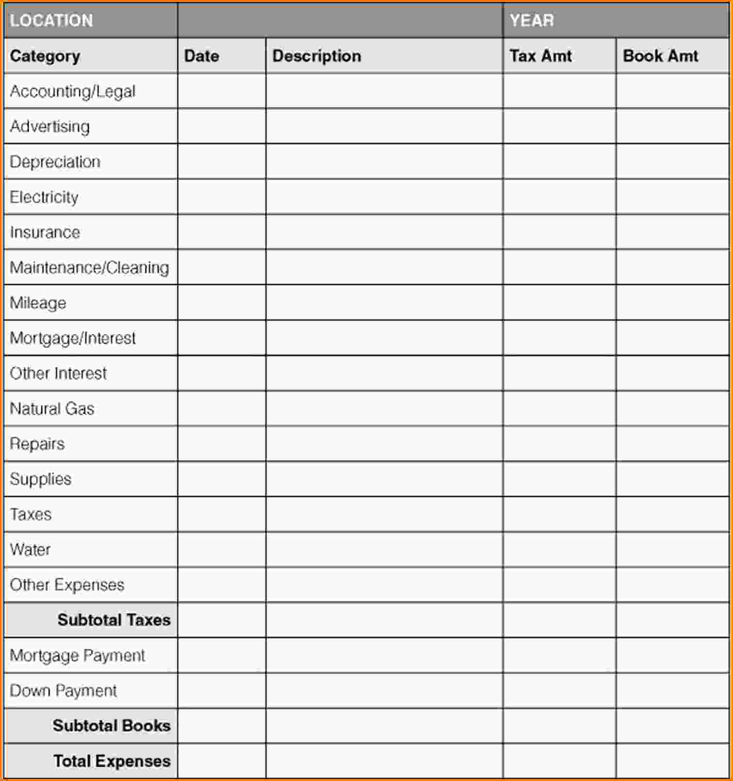 Microsoft Excel Accounting Templates Download 5