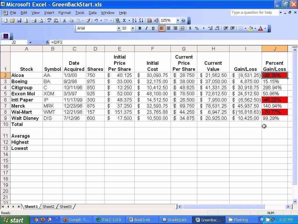Excel Spreadsheet Formulas Ms Excel Spreadsheet