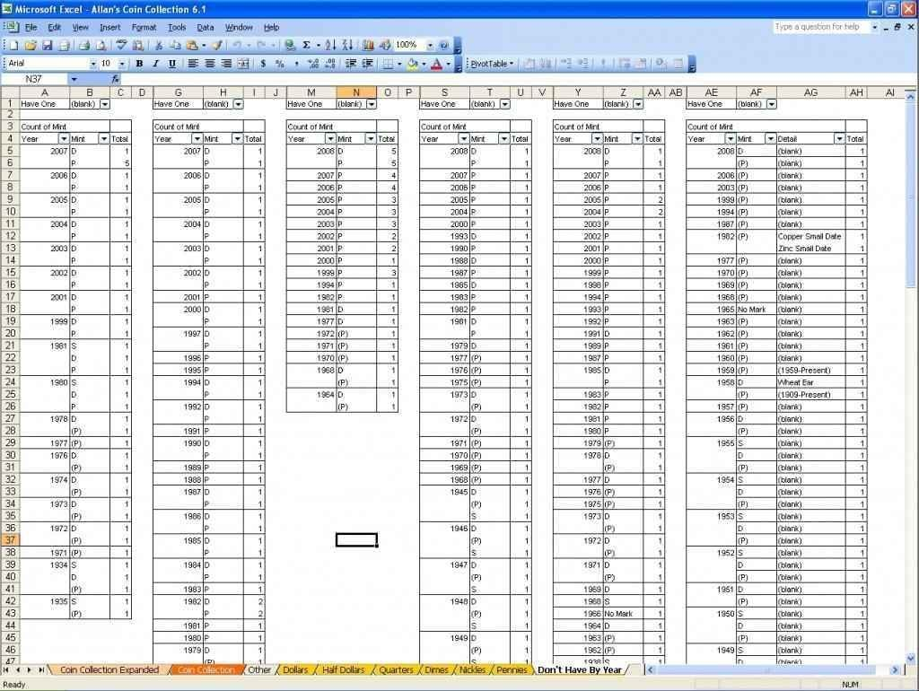 Sample Excel Inventory Spreadsheets