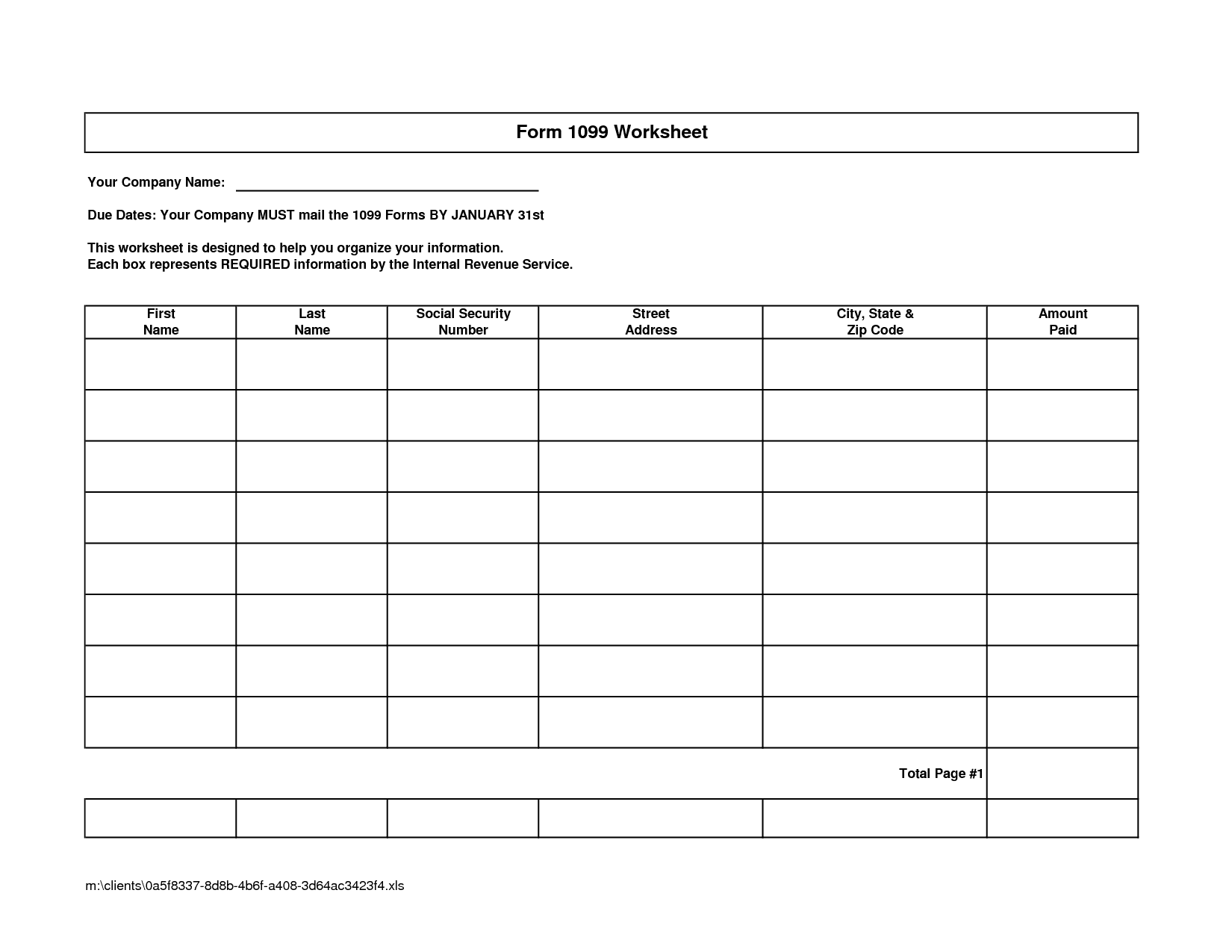 Accounting Spreadsheet Docs