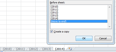 Excel Tip Auto Tab Numbers