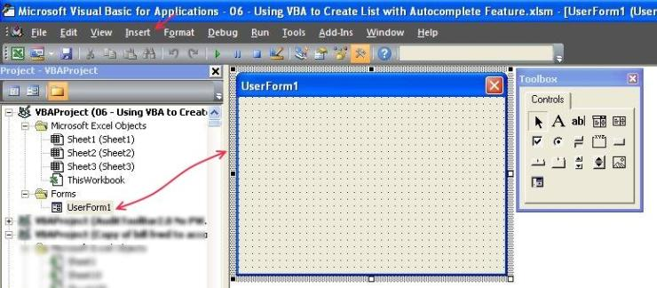 Using Userform and VBA to get Dynamic Data Validation
