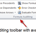Exploring Excel's Internal Audit for Formulas
