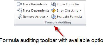Exploring Excel's Internal Audit for Formulas