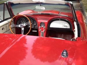 Corvette Stingray - early 60s copyright Shelagh Donnelly