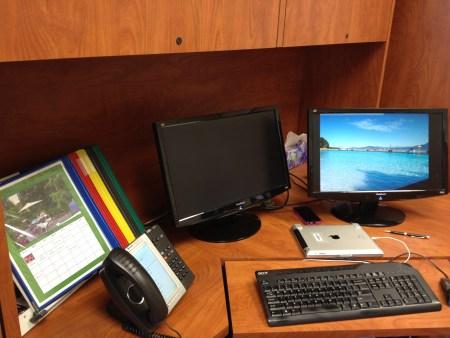 organised desk copyright Shelagh Donnelly