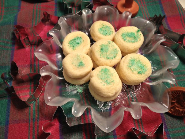 Sugar cookies copyright Shelagh Donnelly