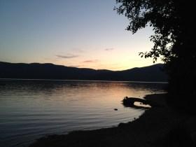A Tuwanek sunset