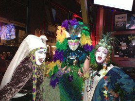 Fat Tuesday Revellers