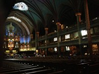 Notre-Dame Basilica Montreal Copyright Shelagh Donnelly