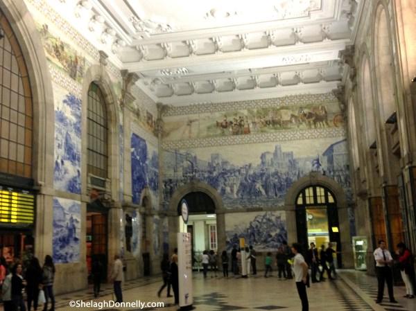 Porto Train Station 5451 Copyright Shelagh Donnelly