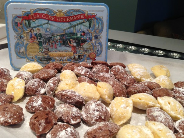 Mini Madeleines Copyright Shelagh Donnelly