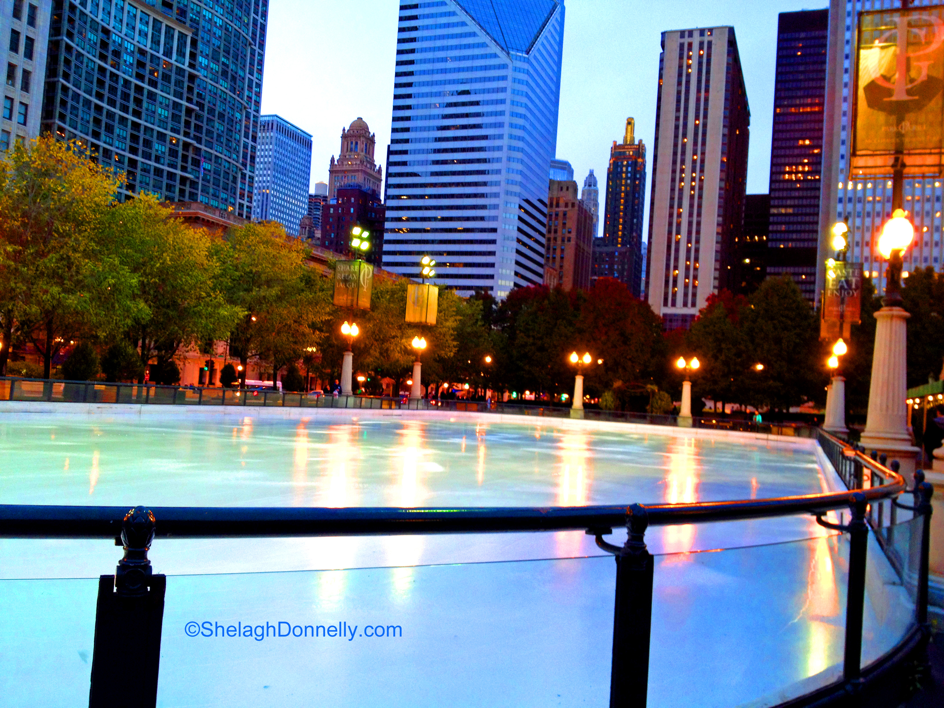 McCormick Tribune Ice Rink 5021 Copyright Shelagh Donnelly