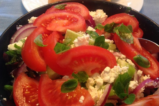 Greek Salad 3594 Copyright Shelagh Donnelly