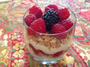 Breakfast parfait 9894 Copyright Shelagh Donnelly