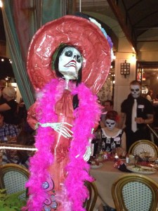 Scottsdale Restaurant at Halloween Copyright Shelagh Donnelly