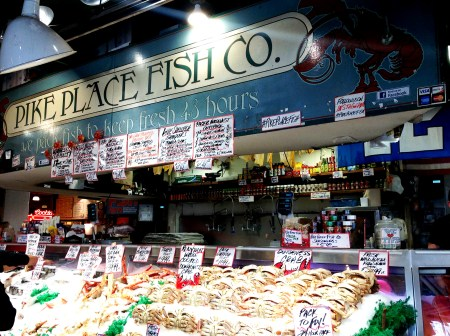 Pike Place Fish 4387 Copyright Shelagh Donnelly