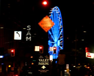 Seattle by Night 7543 Copyright Shelagh Donnelly
