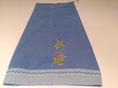Sea Turtle Tea Towel Copyright Shelagh Donnelly