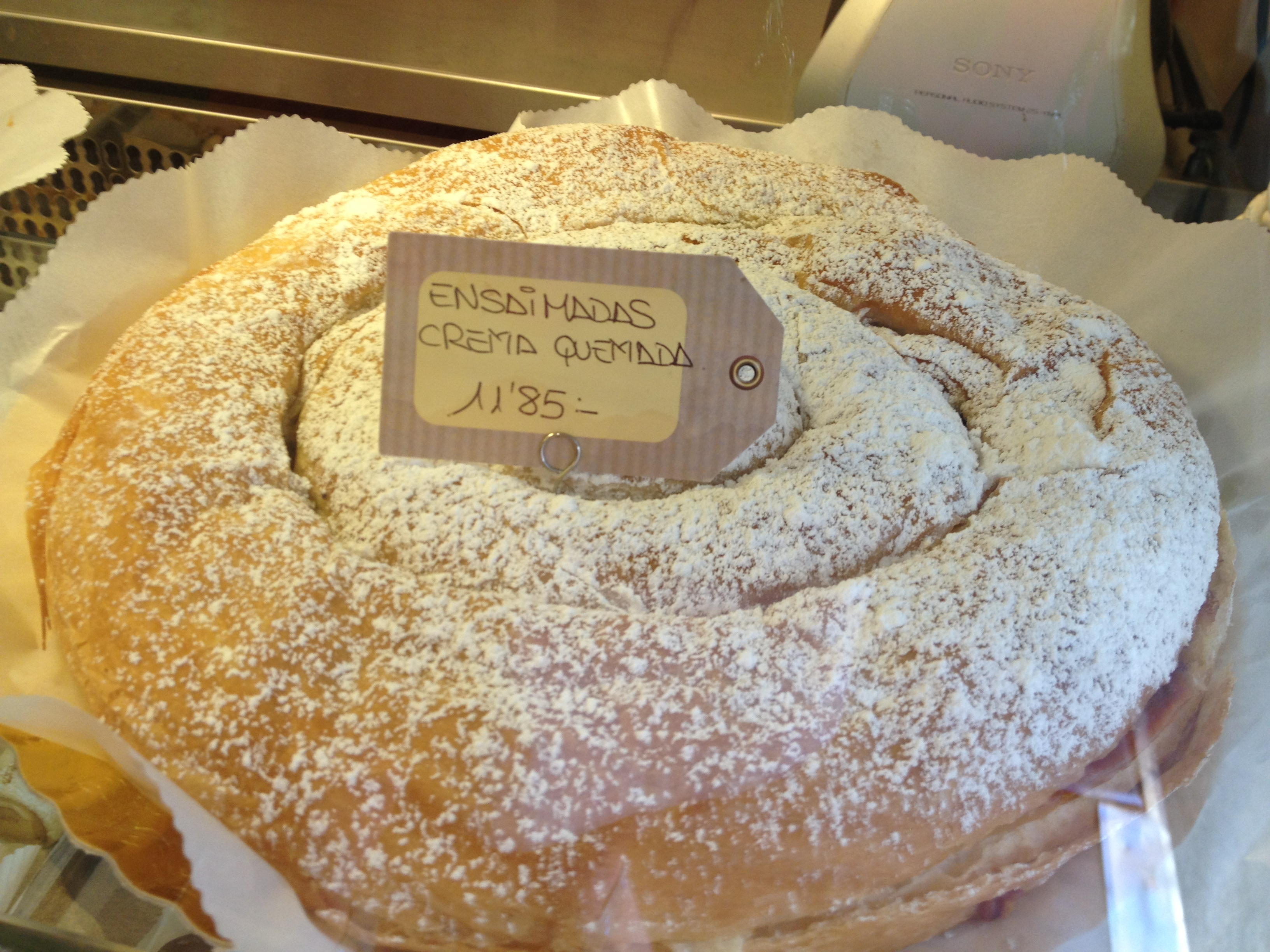 Palma Bakery Ensaïmada Copyright Shelagh Donnelly